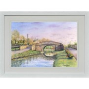 """""""Abbey Bridge, Naas Canal"""""""