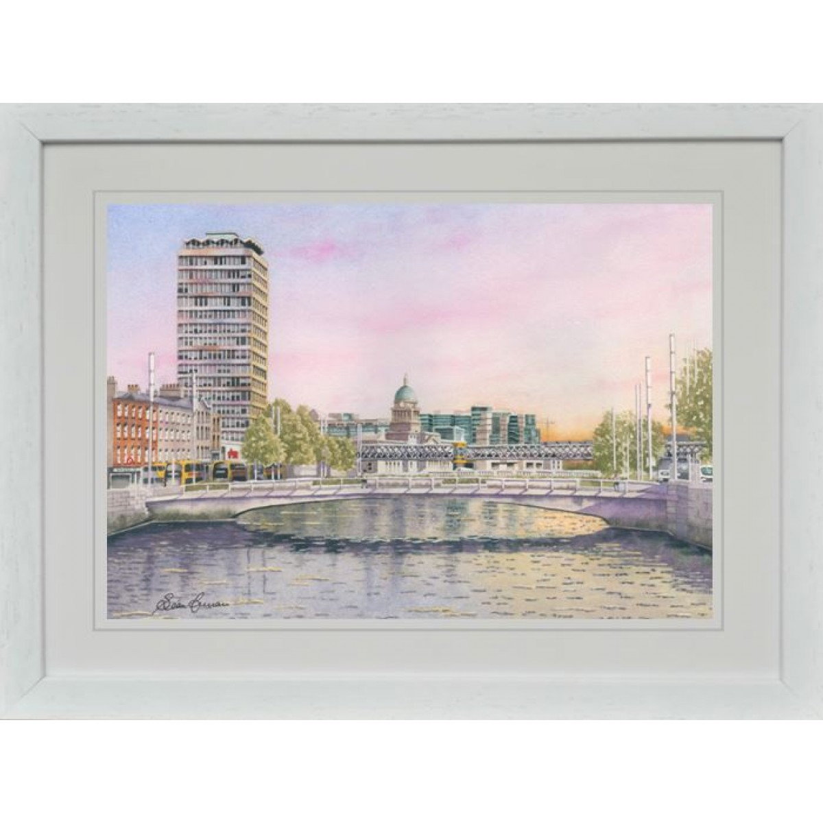 """Dublin on a Sunny Summer Morning"""