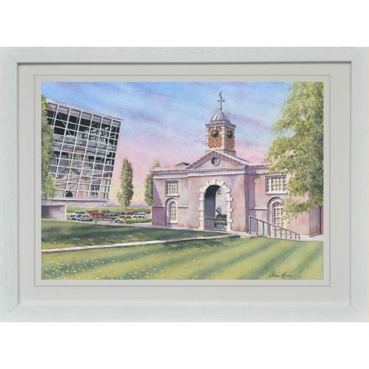 """The Clock Tower, Devoy Barracks, Naas"""