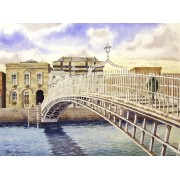 """""""The Ha'penny Bridge, Dublin"""""""