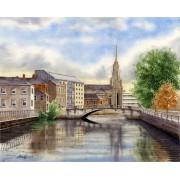 """Parliament Bridge, Cork City"""